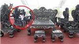 Cận cảnh bộ bàn ghế đón Tết giá 27 tỷ đồng, được lau chùi bóng loáng từng milimet của đại gia Thanh Hóa