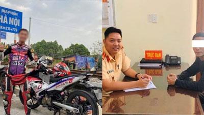 Phượt thủ chạy quá tốc độ Sài Gòn - Hà Nội trong 19 giờ bị xử phạt gần 1 triệu đồng
