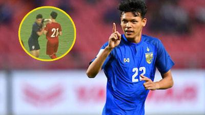 Thoát án phạt vì lỗi đấm vào cổ Đình Trọng trên sân, cầu thủ Thái Lan: 'Tôi luôn tự tin vào bản thân mình'