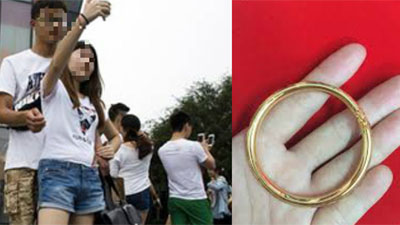 Phiên bản nâng cấp của 'chia tay đòi quà', chàng trai yêu cầu bạn gái trả lắc tay đã tặng lúc còn mặn nồng theo giá vàng hiện tại
