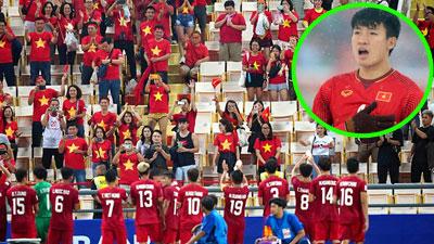 Trung vệ Bùi Tiến Dũng động viên đồng đội sau thất bại tại U23 Châu Á: 'Người hâm mộ luôn bên cạnh chúng ta'