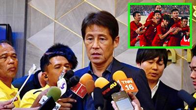 Bị loại tức tưởi ngay trên sân nhà, HLV Thái Lan tiếp tục cà khịa: '2 năm trước, Việt Nam sao hay bằng chúng tôi'?