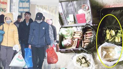 Hành trang lên thành phố sau mấy ngày Tết: Hai vali đầy ự đồ ăn quê, thịt, cá, 100 trứng gà và hẳn 10kg khế ngọt