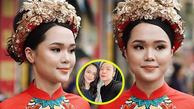 Bị chê tơi tả ở lễ ăn hỏi, 'công chúa béo' Quỳnh Anh tiếp tục tin tưởng giao mặt cho thợ make up cũ