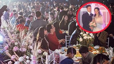 Quỳnh Anh bật khóc giữa đám cưới ngàn người tham dự: 'Cảm ơn vì những gì tốt đẹp nhất mà anh đã làm cho em'
