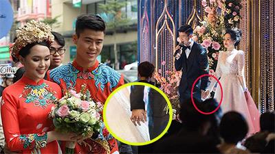 Từ đám hỏi đến đám cưới, Duy Mạnh luôn nắm chặt tay cô dâu Quỳnh Anh: Một phút cũng không muốn buông tay em!