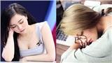 Cận cảnh nhan sắc 3 'hot girl ngủ gật' được báo Hàn Quốc hết lời khen ngợi