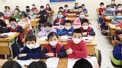 Đề xuất học sinh đi học trở lại từ tháng 3, không đeo khẩu trang trong lớp