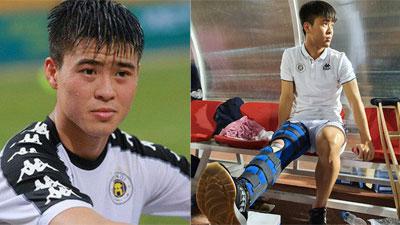 Chia sẻ đầu tiên của Duy Mạnh sau chấn thương: 'Em buồn, em đau nhưng em chấp nhận'