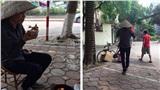 Hình ảnh người phụ nữ khắc khổ gom ve chai và lời từ chối nhận gói quà miễn phí khiến nhiều người lặng đi vì xúc động