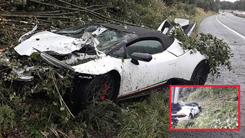 Thuê siêu xe Lamborghini Huracan 5,6 tỷ dự đám cưới cho oai, thanh niên ôm đống nợ khi tai nạn bất ngờ ập tới