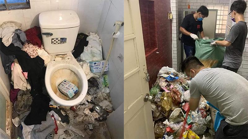 Xuất hiện cô gái siêu ở bẩn tại Việt Nam: Ăn ngủ với rác, âm thầm bỏ đi để lại bãi chiến trường kinh dị