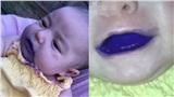 Đăng clip 2 con nhỏ ngậm bút lông đến nỗi miệng đầy màu tím và đùa cợt, người mẹ bị dân mạng chỉ trích phải lên tiếng thanh minh