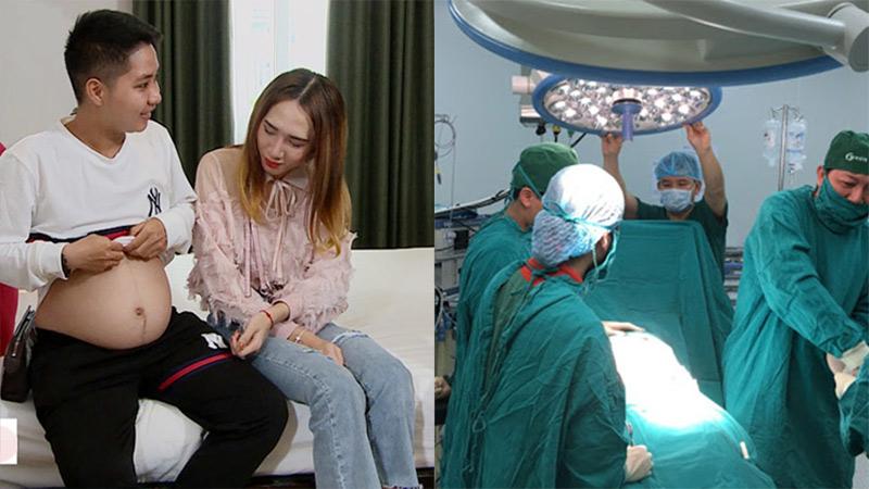'Ông bố' đầu tiên tại Việt Nam đã 'vượt cạn' thành công, hạ sinh công chúa đầu lòng