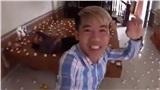 Con trai bà Tân Vlog xếp trứng quanh nhà để troll mẹ, bị dân tình phẫn nộ lên án vì lãng phí thức ăn