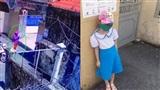 Bà mẹ có con gái lớp 1 đứng nắng ngoài cổng trường: 'Tôi có thói quen chụp ảnh cháu mỗi khi đi học'