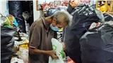 Ông lão nhịn đói để dành tiền mua thức ăn cho mẹ già và chị gái gây xúc động