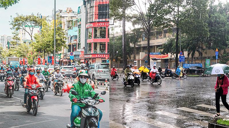 Sài Gòn vào mùa 'sáng nắng, chiều mưa': Đến nhanh, đi nhanh để lòng người vương vấn