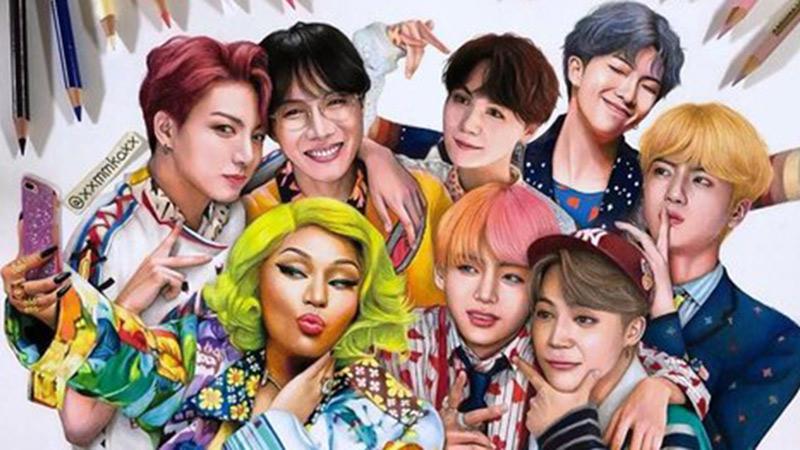 Mặc ồn ào bủa vây, MV kết hợp giữa BTS và Nicki Minaj 'ung dung' chạm mốc thành tích mới