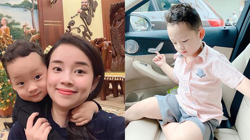 Mẹ đơn thân Ly Kute hạnh phúc khoe con trai 4 tuổi càng lớn càng hiểu chuyện