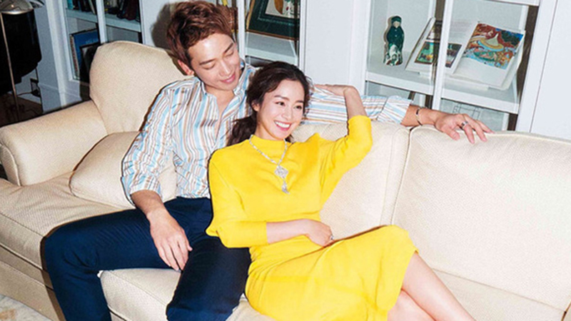 Vợ chồng Kim Tae Hee - Bi Rain giàu 'nứt đố đổ vách', hai cô con gái chính là thiên kim tiểu thư hạng nhất xứ Hàn