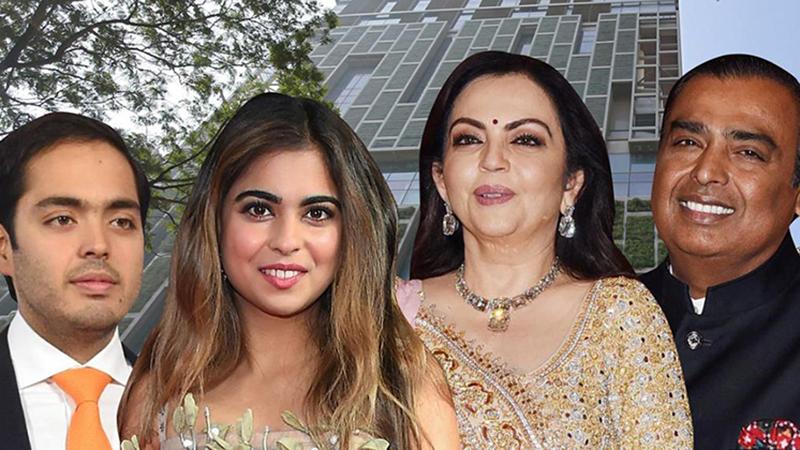 Gia đình tỷ phú giàu nhất Ấn Độ và cuộc sống xa hoa phú quý