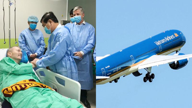 Thay đổi phút chót, phi công Anh nhận lịch bay mới: Tạm biệt bệnh nhân Covid-19 đặc biệt nhất