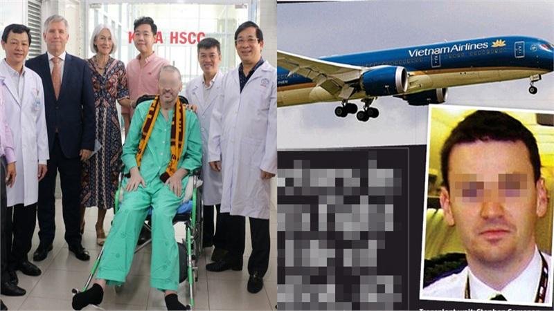 Phi công Anh tạm biệt các bác sĩ Việt Nam: 'Đêm nay, anh sẽ trở lại như một phi công'