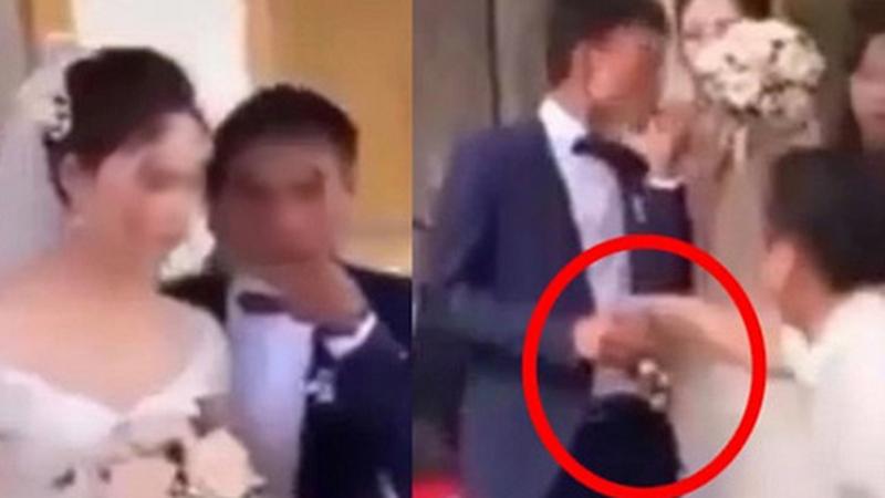 Ngay giờ phút đón dâu, chú rể có hành động lạ khiến cô dâu ngán ngẩm không thốt nên lời