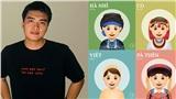 Mong muốn truyền bá văn hóa Việt Nam, chàng trai 9x thiết kế bộ emoji 54 dân tộc Việt cực đáng yêu