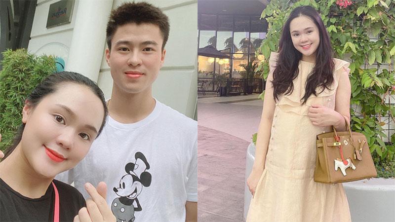 Hiếm hoi mới đăng ảnh, bà bầu Quỳnh Anh lộ rõ thân hình phát tướng với sự thay đổi nhanh không ngờ trên khuôn mặt