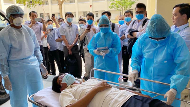 Một ca Covid-19 mắc nhiều bệnh nền, Quảng Trị đề nghị chuyển viện cho bệnh nhân