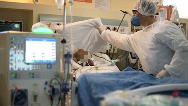 6 bệnh nhân Covid-19 đang rất nguy kịch, có thể tử vong bất cứ lúc nào