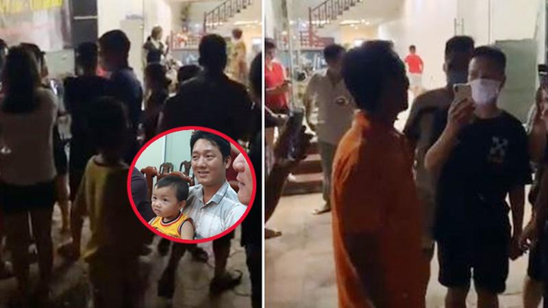 Vỡ òa khoảnh khắc người dân Bắc Ninh chờ trực đón bé trai bị bắt cóc về với gia đình