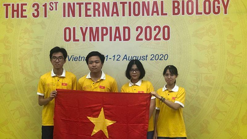 Việt Nam giành 3 huy chương tại Olympic Sinh học quốc tế