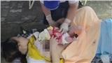 Đang làm thủ tục khai báo y tế, sản phụ chuyển dạ, sinh con ngay chốt kiểm soát dịch Covid-19