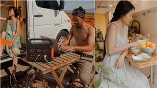 Đôi vợ chồng người Việt đầu tư gần 600 triệu đồng mua chiếc xe Van, tự xây bếp và phòng ngủ rồi đưa nhau đi khắp nước Mỹ