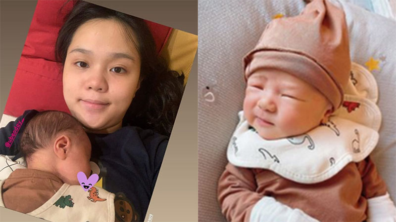Quỳnh Anh lần đầu chia sẻ hình ảnh 'mẹ bỉm sữa', lập luôn trang cá nhân cho con trai và nhận lượng theo dõi khủng