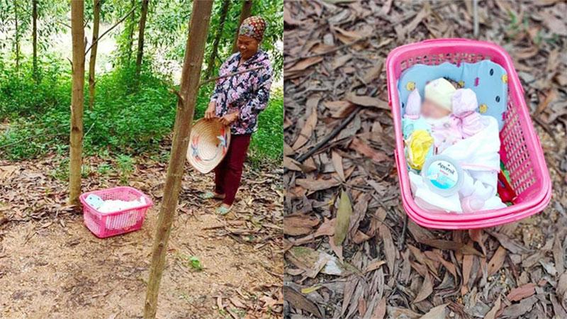 Lại một vụ bỏ rơi trẻ sơ sinh: Đặt trong giỏ hồng kèm mảnh giấy 'tôi không đủ điều kiện, ai nhặt được nuôi giùm'