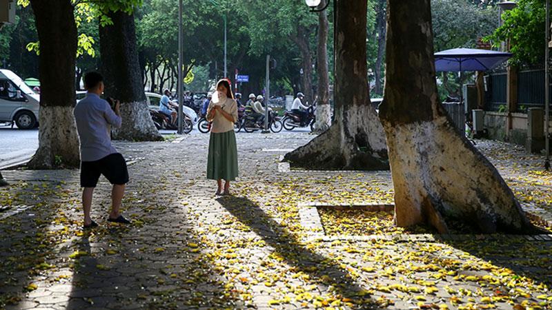 Thủ đô mùa lá đổ