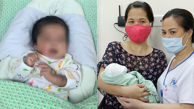 Bé trai sơ sinh ngừng tim bị bỏ trong túi rác đã xuất viện khỏe mạnh, về với tổ ấm mới