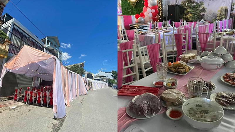 Chủ nhà hàng ở Điện Biên lên tiếng về vụ khách bùng 150 mâm cỗ cưới: 'Là khách quen của gia đình em'