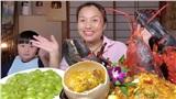 Liên tục làm video ăn tôm hùm, tôm càng, hải sản đắt đỏ, Quỳnh Trần JP khiến fan hâm mộ vừa thèm vừa ghen tị vì quá giàu có