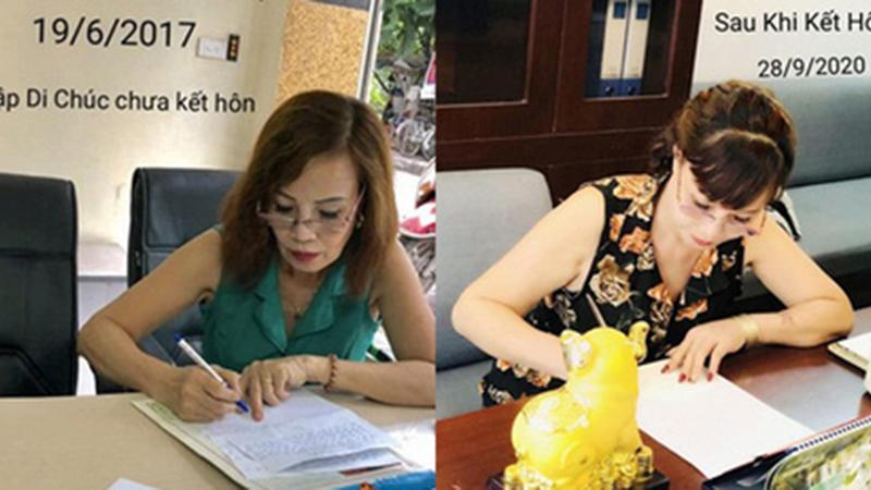 Xôn xao thông tin cô dâu 63 tuổi ở Cao Bằng đích thân sửa lại bản di chúc đã lập sau khi lấy chồng trẻ Hoa Cương