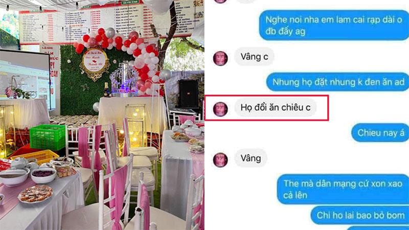 Vụ bùng 150 mâm cỗ cưới: Nhà hàng ở Điện Biên chính thức lên tiếng về tin nhắn 'họ đổi sang ăn chiều'