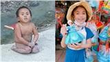 Sau 3 năm được nhận nuôi 'em bé Mường Lát' đã thay đổi cực bật ngờ, xinh xắn, cao lớn và hạnh phúc bên gia đình