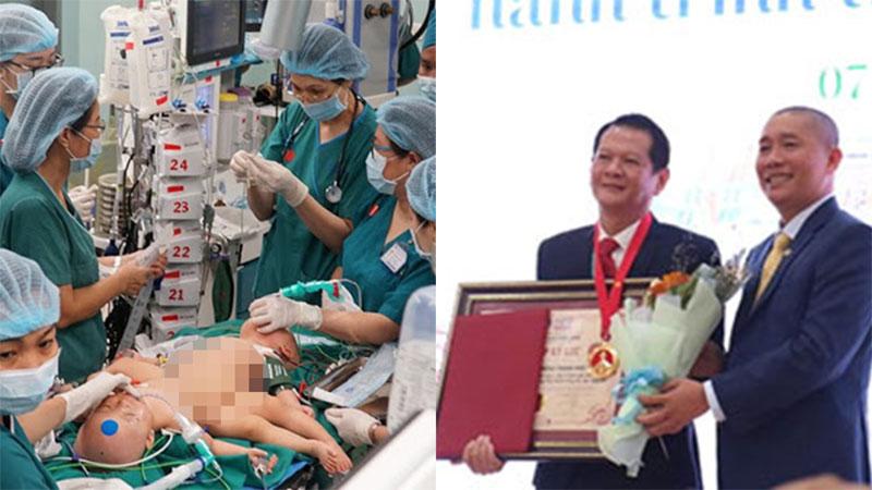Ca mổ tách rời cặp song sinh Trúc Nhi - Diệu Nhi xác lập kỷ lục Việt Nam