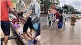 Người mẹ sinh con trên ghe ngày lũ: 'Tôi may mắn khi được nhiều người giúp đỡ'