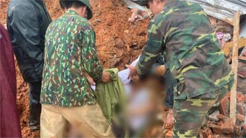 Tìm thấy 19 thi thể quân nhân mất tích vì sạt lở ở Quảng Trị, có nơi đất đá vùi lấp sâu gần 10m