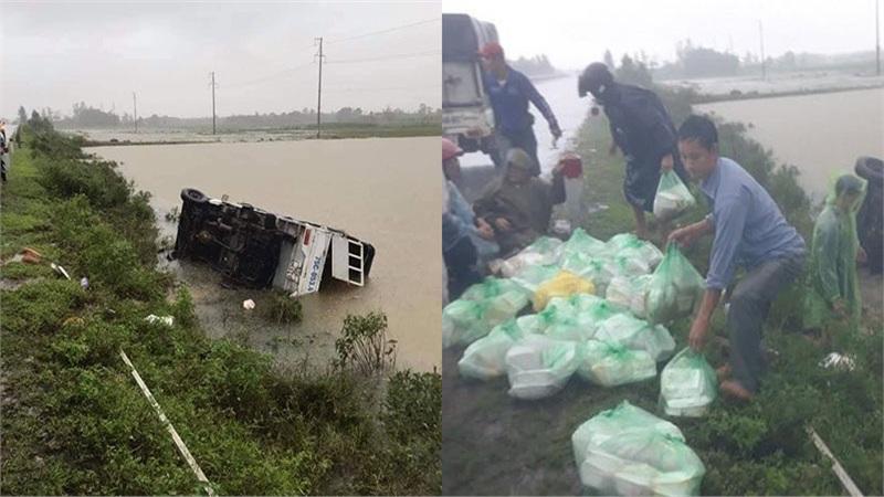 Lời kể của tình nguyện viên trên xe tiếp tế bị lật ở Quảng Trị